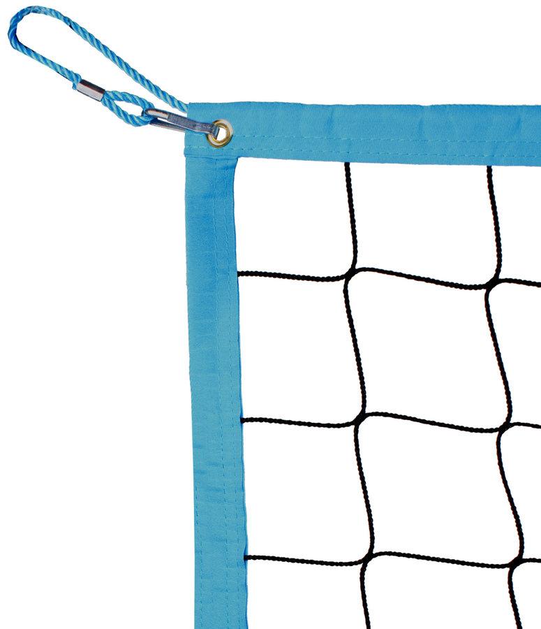 Černá volejbalová síť s lankem Pokorný sítě - délka 850 cm