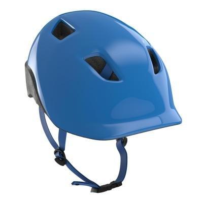 Modrá dětská cyklistická helma B'TWIN