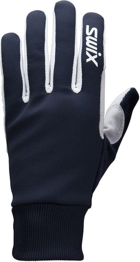 Modré rukavice na běžky Swix