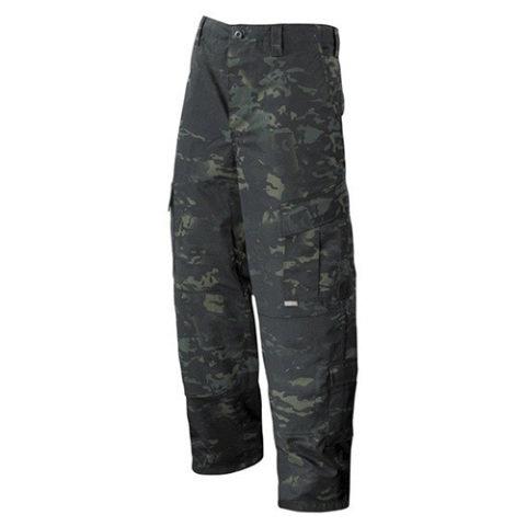 Kalhoty - Kalhoty TRU N/C rip-stop MULTICAM BLACK® + Dárek ZDARMA