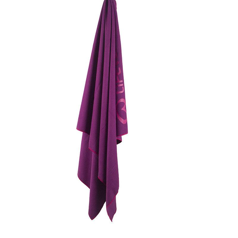 Fialový rychleschnoucí ručník Lifeventure