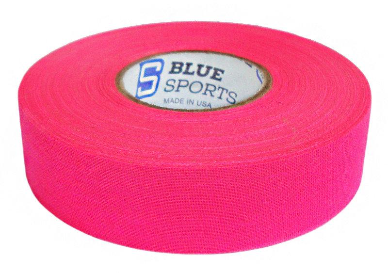 Hokejová páska - Izolace na hokejky Blue Sports neon růžová 25 m Barva: neon růžová