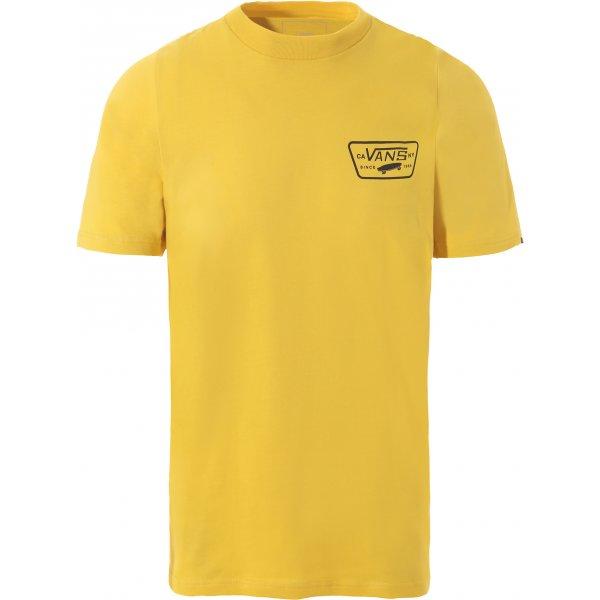 Žluté pánské tričko s krátkým rukávem Vans