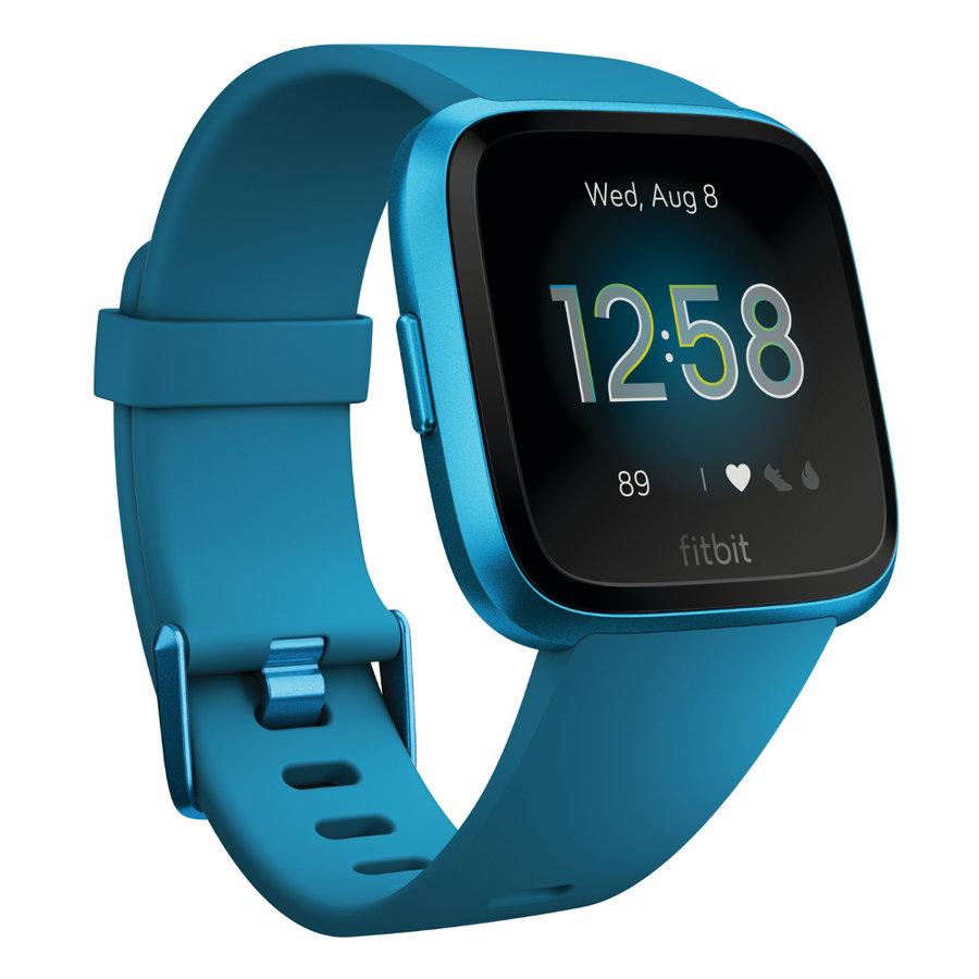 Modré digitální chytré hodinky Versa Lite, Fitbit