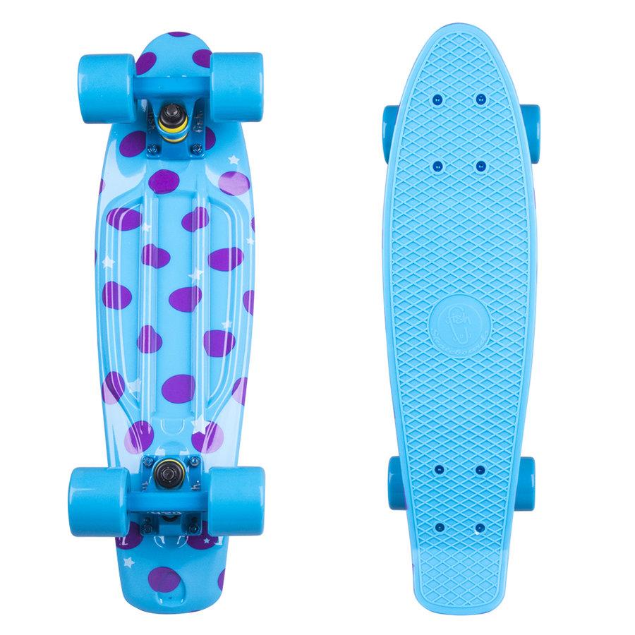 Modrý pennyboard Fish