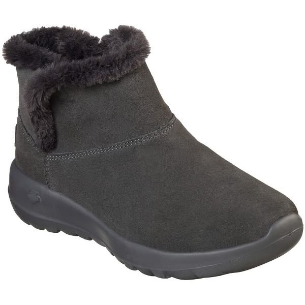 Šedé dámské zimní boty Skechers - velikost 40 EU