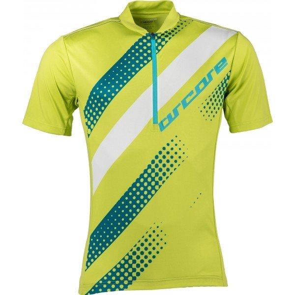 Zelený pánský cyklistický dres Arcore