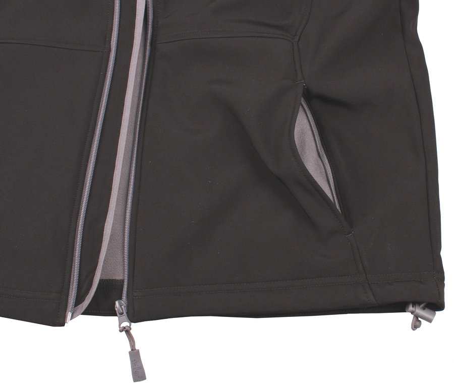 f48e134aeed7 Černá softshellová dámská vesta Adler - velikost S