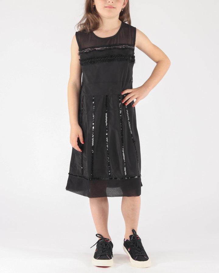 Černé dívčí šaty Diesel