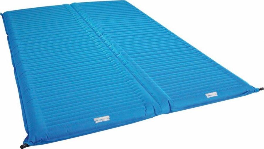 Modrá nafukovací karimatka pro 2 osoby Therm A Rest - tloušťka 7,6 cm