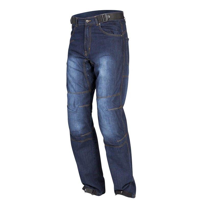 Modré pánské motorkářské kalhoty Urban II, Rebelhorn