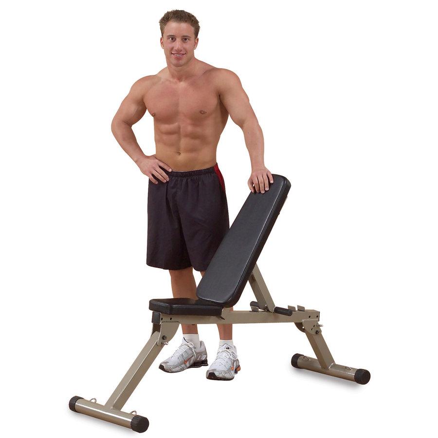Nastavitelná posilovací lavice Best Fitness