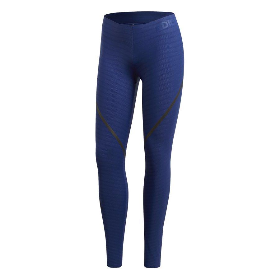 Modré dámské legíny Adidas - velikost L