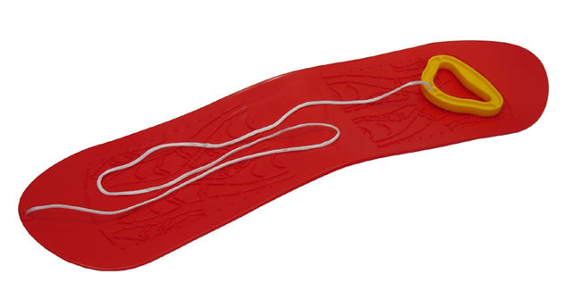 Kluzák - Acra A2033 snowboard dětský plastový - červený