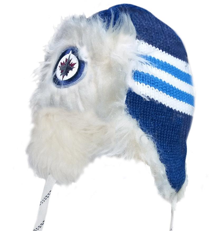 "Modrá beranice ""Winnipeg Jets"", Reebok"