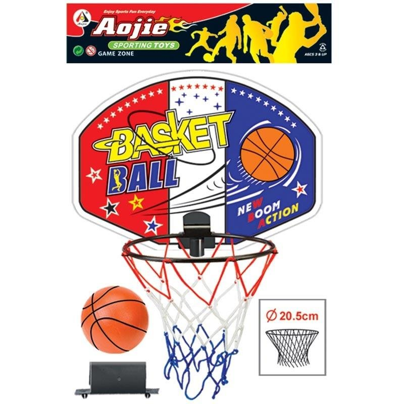 Basketbalový koš - Basketbalový set z plastu s míčem