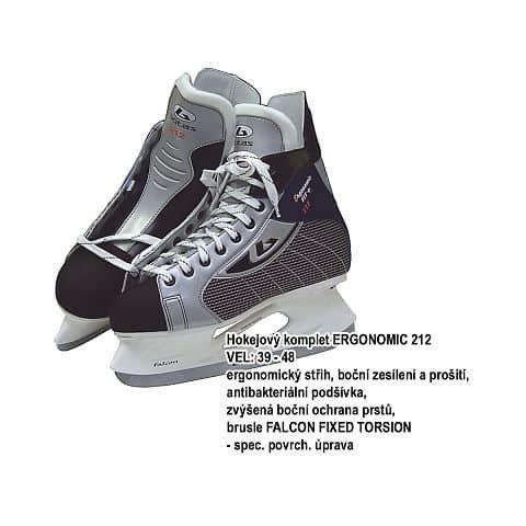 Hokejové brusle Ergonomic, Botas - velikost 39 EU