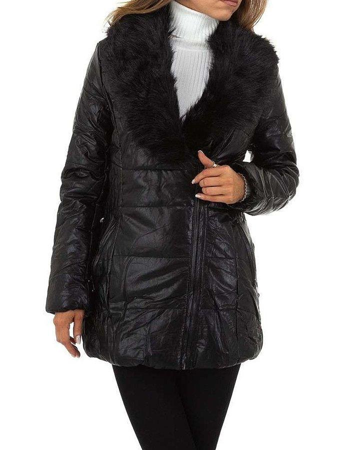 Černá dámská bunda