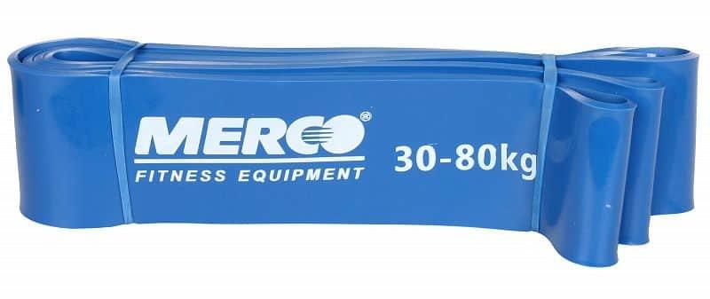 Posilovací guma - Force Band posilovací guma 208x4,5 cm barva: modrá