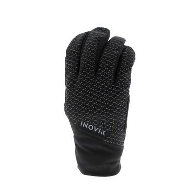 Černé rukavice na běžky Inovik