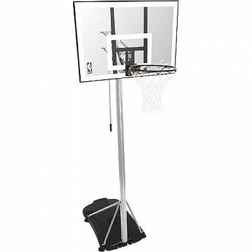 Basketbalový koš - Basketbalový koš NBA SILVER PORTABLE Spalding