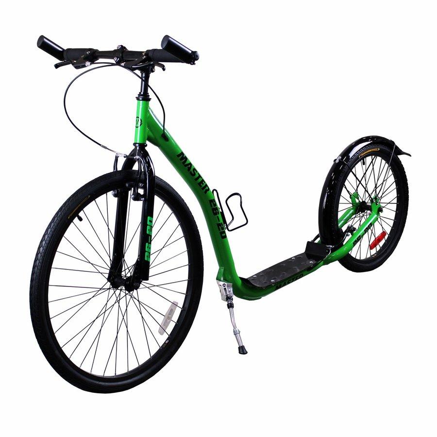 Černo-zelená koloběžka pro děti Master