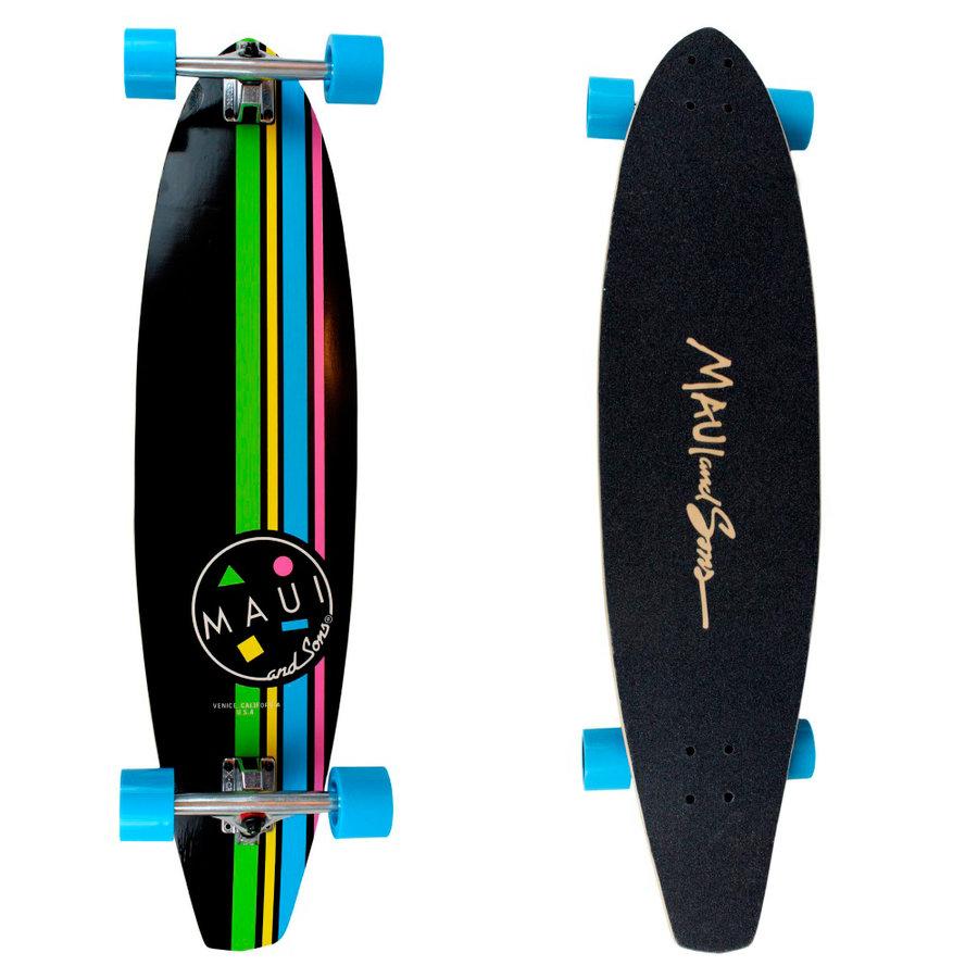 """Longboard - Longboard Maui COOKIE STRIPE KICKTAIL 39"""""""