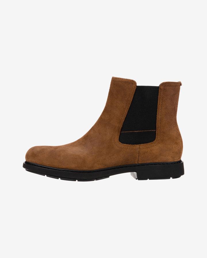 Hnědé pánské kotníkové boty Camper