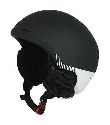 Bílo-černá lyžařská helma Blizzard - velikost 60-63 cm