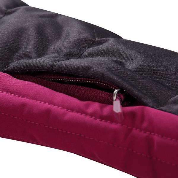 Fialovo-růžová dámská bunda Alpine Pro - velikost L