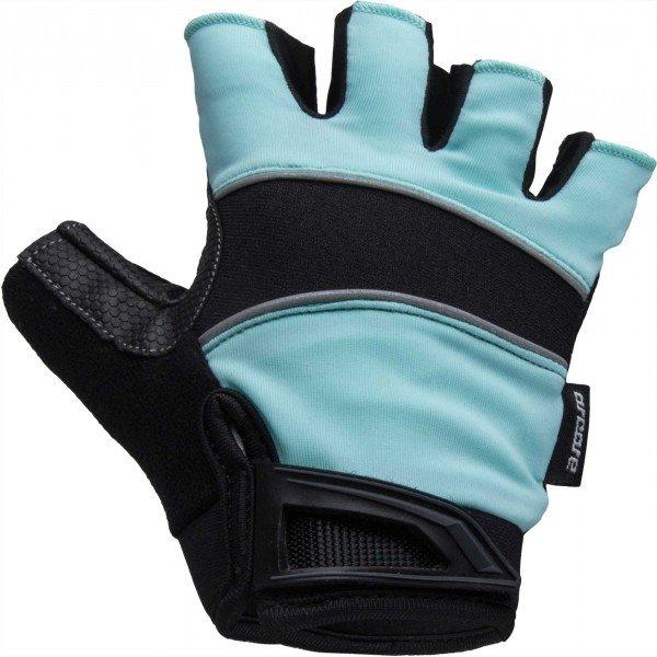 Černo-modré letní cyklistické rukavice Arcore - velikost L