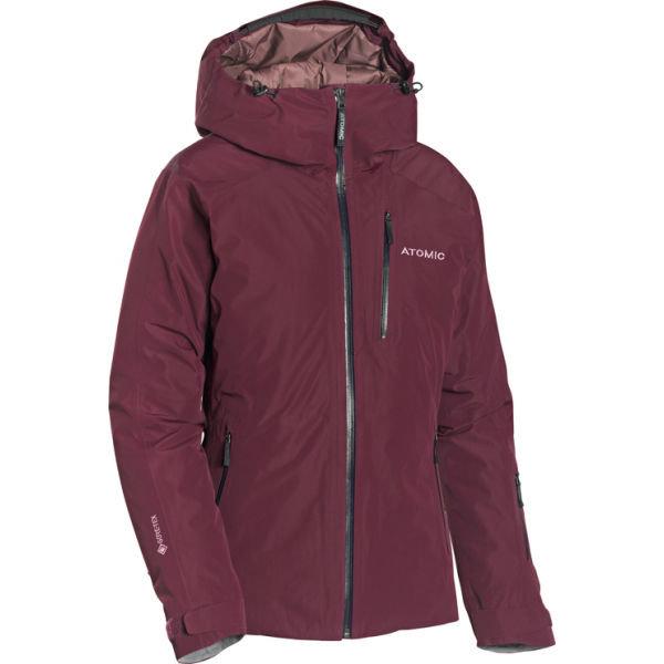 Červená dívčí lyžařská bunda Atomic - velikost M