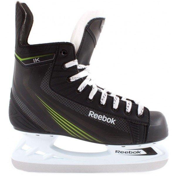 Černé pánské hokejové brusle Reebok