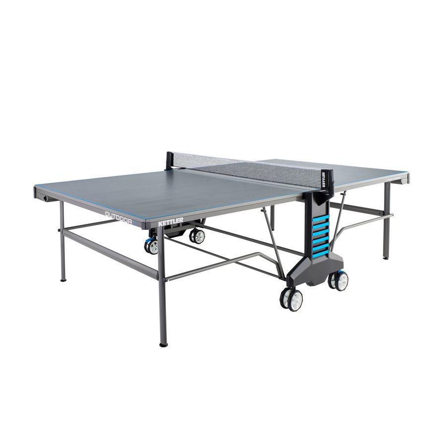 Modro-šedý venkovní stůl na stolní tenis OUTDOOR 6, Kettler