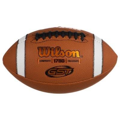 Hnědý míč na americký fotbal Gst Composite, Wilson