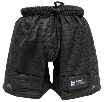 Černé hokejové kraťasy - senior Blue Sports - velikost XXL