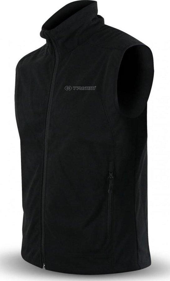 Černá softshellová pánská vesta Trimm - velikost 4XL