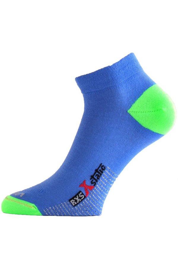 Modro-zelené pánské běžecké ponožky Lasting