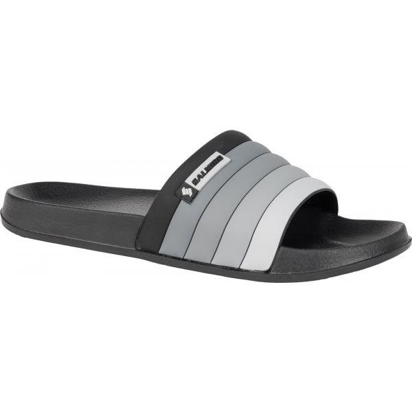 Černé pánské pantofle Salmiro