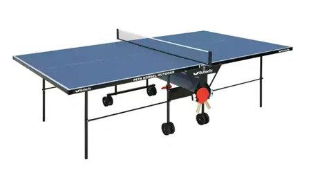 Modrý venkovní stůl na stolní tenis Petr Korbel Outdoor, Butterfly