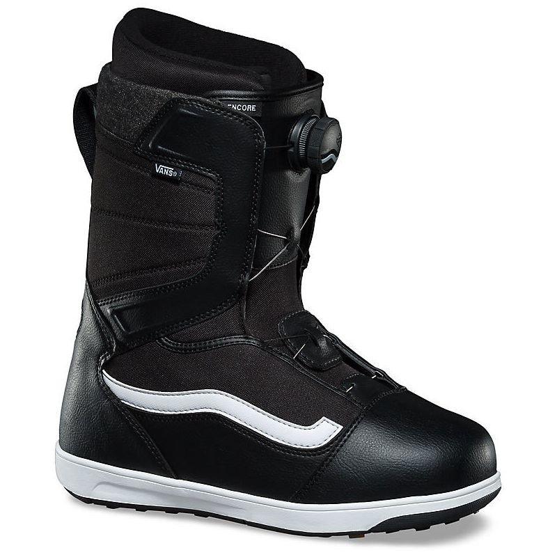 Černé pánské boty na snowboard Vans - velikost 42,5 EU