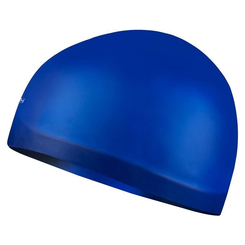 Modrá pánská nebo dámská plavecká čepice SEAGULL, Spokey