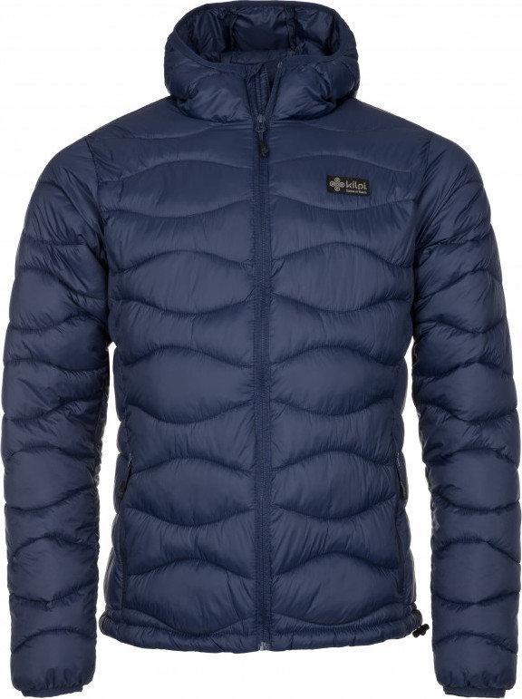 Modrá zimní pánská bunda s kapucí Kilpi - velikost S
