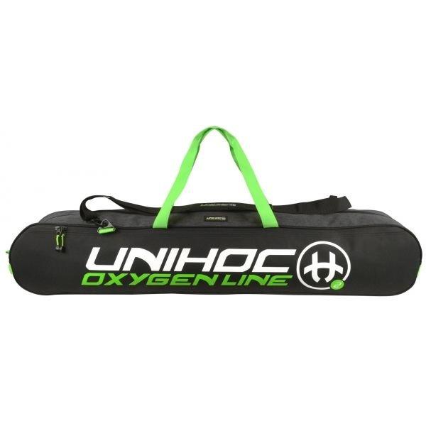 Černá florbalová taška Oxygen, Unihoc