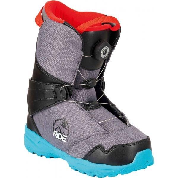 Šedé dětské boty na snowboard FTWO