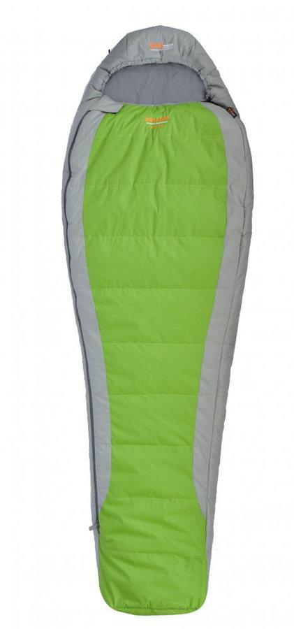 Zelený spací pytel Pinguin - délka 185 cm