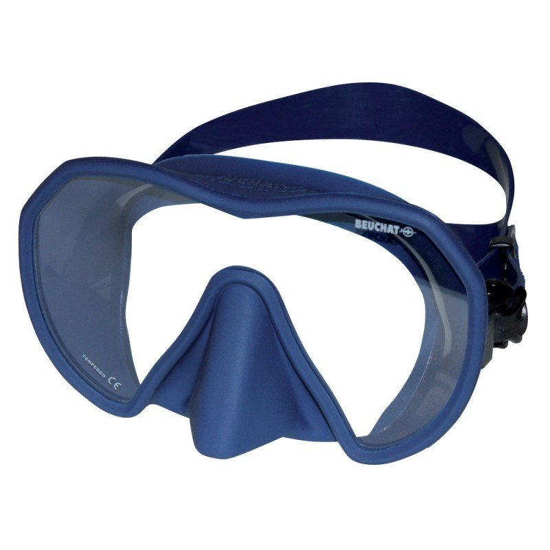 Potápěčská maska - Maska potápěčská (brýle) Maxlux S Beuchat , tmavě modrá