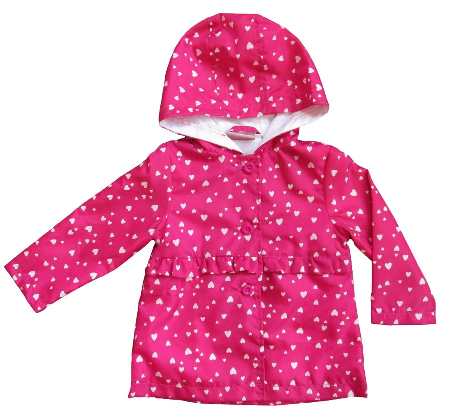 Růžová dívčí bunda Carodel - velikost 74