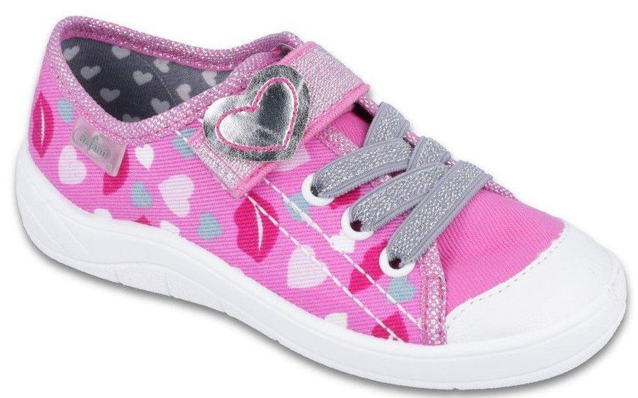 Růžové dětské tenisky Befado