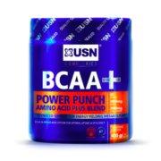 """BCAA USN """"ovocný punč"""" - 400 g"""